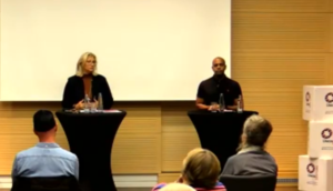 TRIBe's Podiumsdiskussion mit Anke Rehlinger