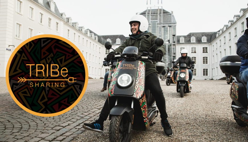 Tribe E-Moped Sharing