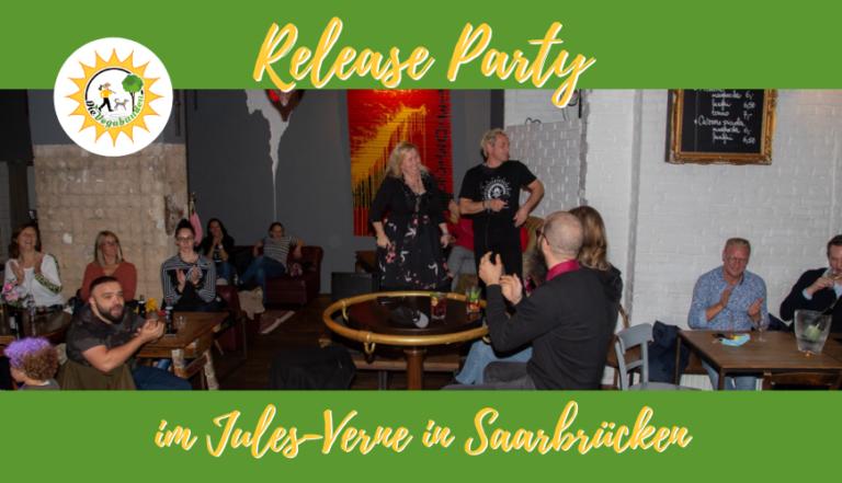 Die Release Party der Vegabunden im Jules Verne Saarbrücken