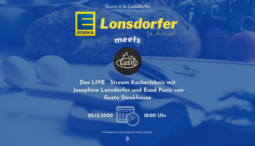 Edeka Lonsdorfer St. Arnual meets Gusto Steakhouse