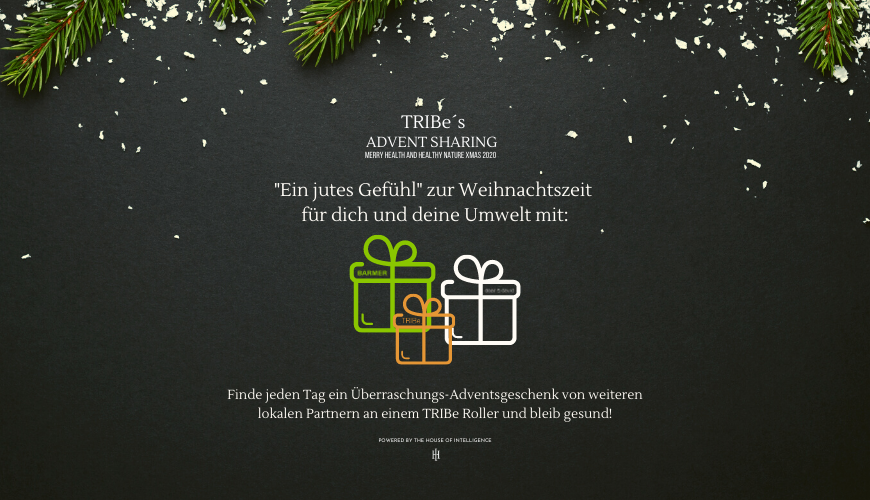 TRIBe´s Advent Sharing mit BARMER