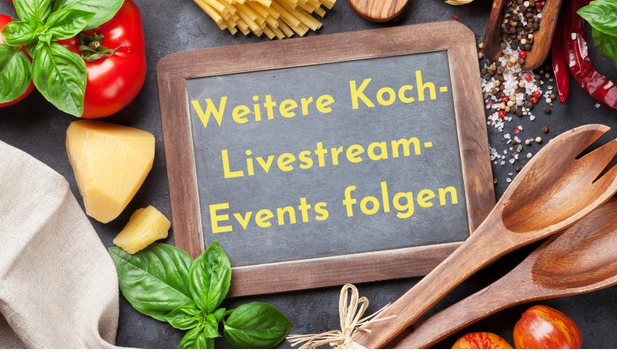 EDEKA Lonsdorfer 2021 weitere Koch-Livestream-Events