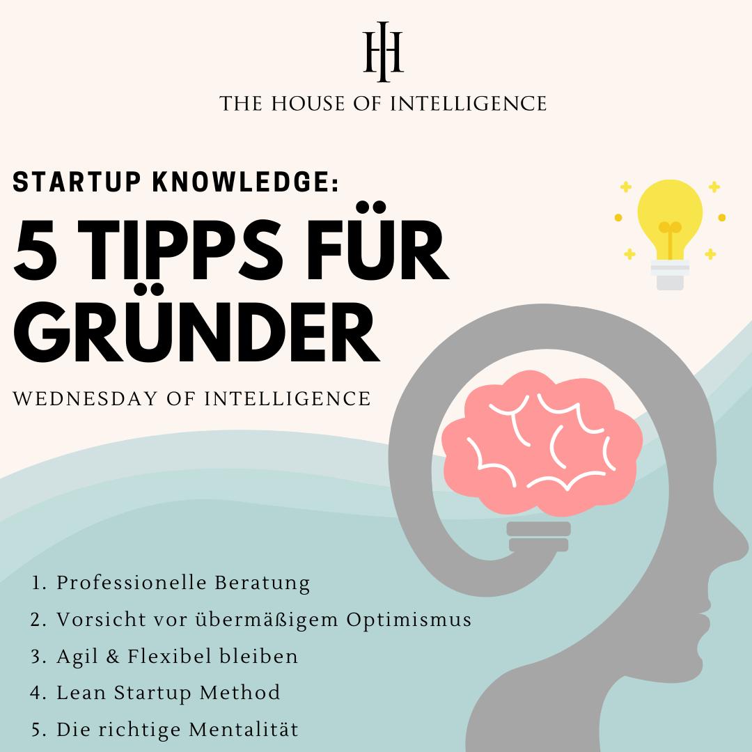 5 Tipps für Gründer