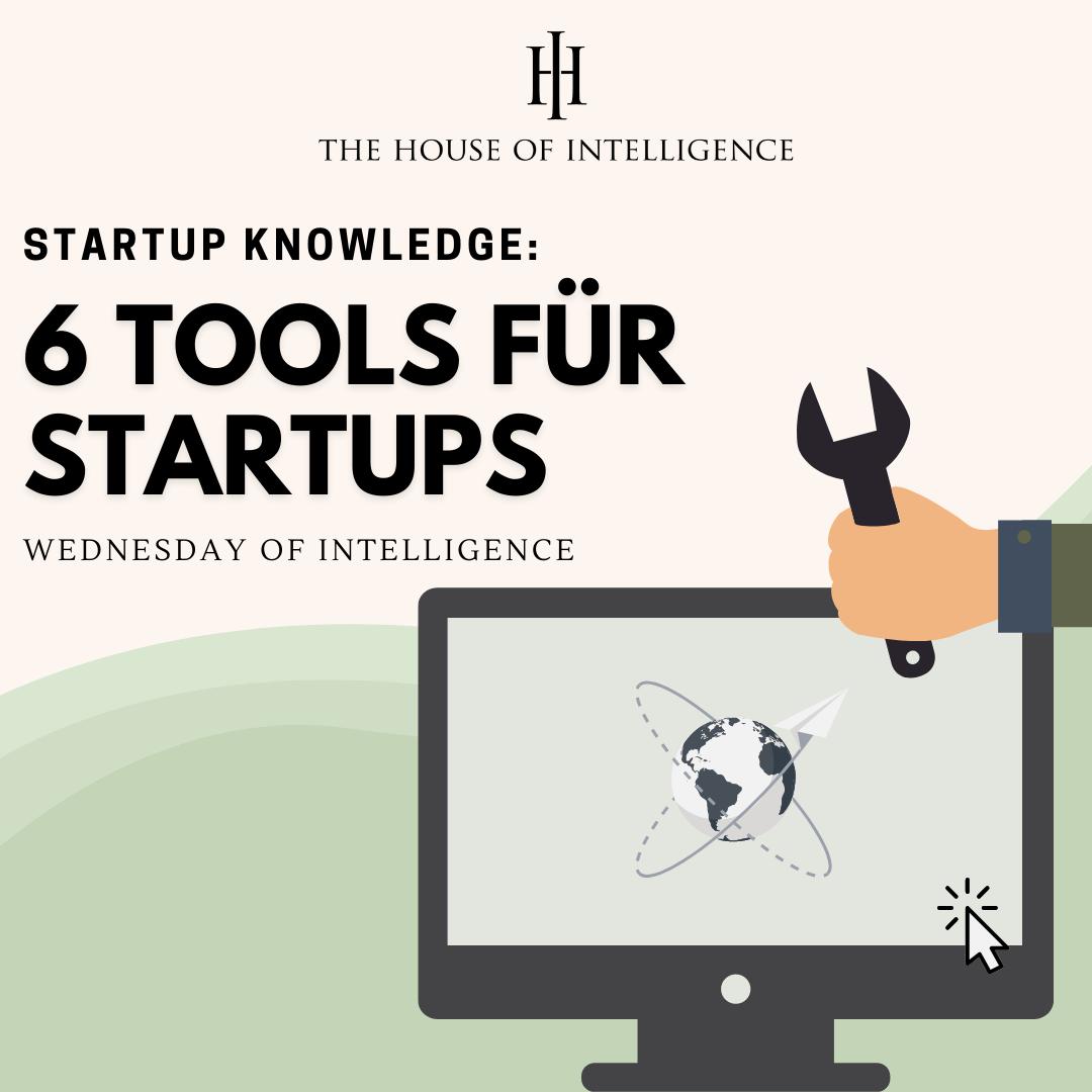 6 Tools für Startups