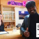 Thoi Boy zu Gast bei Lenas Theke im Haus der Union Stiftung
