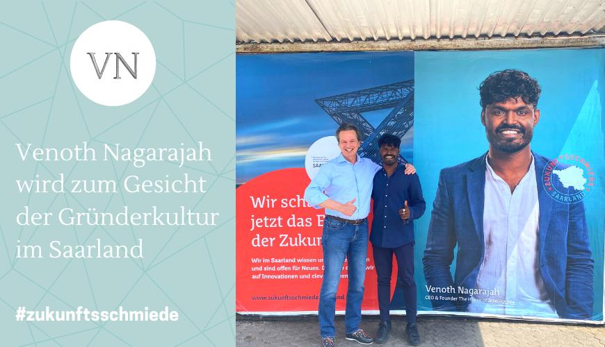 THoI Boy Venoth Nagarajah wird zum Gesicht der Gründerkultur im Saarland