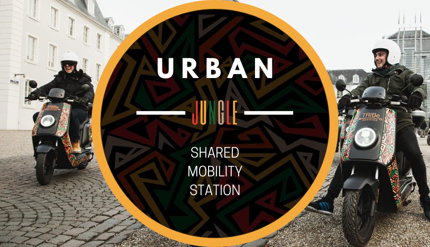 TRIBe Shared Mobility Station